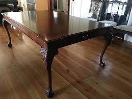 henkel harris mahogany dining room table 2212 500 00 picclick