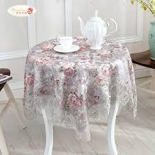 exquisite home decor proud rose exquisite jacquard lace round tablecloth romantic rural