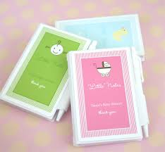 personalized favors baby shower favor personalized notebook