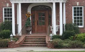 Entry Stairs Design Home Design Exterior Designs Fancy Brick Front Porch Steps