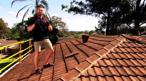 Monier Roman Concrete Roof Tiles by How To With Monier Changing A Roof Tile Youtube