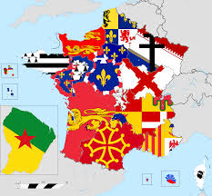 Alsace Lorraine Map Flag Map Of French Regions In 2016 Vexillology