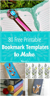 free printable halloween bookmarks 80 free printable bookmarks to make tip junkie