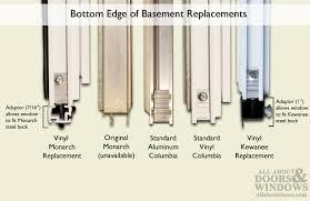 Install Basement Door by Kewanee C 300a 36 Aluminum Basement Window Insert Single Pane
