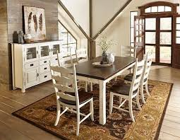 Farmhouse Kitchen Table Sets by Champlain Almond And Kaffe Set Canadel Furniture Farmhouse