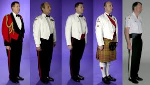 black tie guide supplemental military
