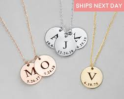 personalized necklace images Personalized necklace etsy jpg