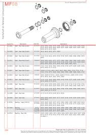 massey ferguson rear axle page 304 sparex parts lists