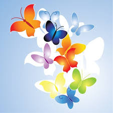free colorful butterfly vector illustration free vector graphics