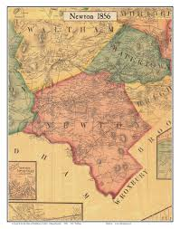 Ma Map Old Maps Of Middlesex County Ma