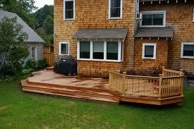backyard deck designs the home design adorable deck designs for