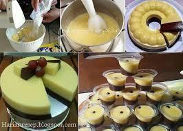 cara membuat puding enak dan murah resep puding mentega coklat langsung enak dan anti gagal harian resep