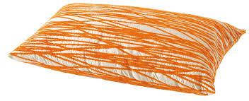 coussins orange coussin ikea objet déco déco