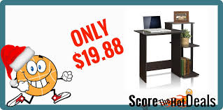 Furinno Computer Desk Only 19 88 Score The Hot Deals