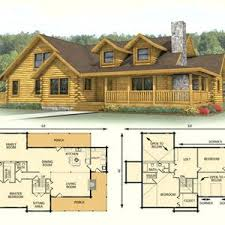 large log home floor plans floor plans for log homes beautiful cabin with wrap around porch