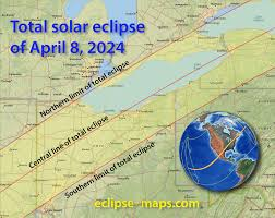 Ohio Pennsylvania Map by 2024 Total Eclipse Covers Most Of Ohio And Pa U2013 Butler Dispatch