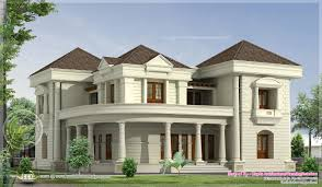 View House Plans by Modern Bungalows Bedroom Luxurious Bungalow Floor Plan And 3d