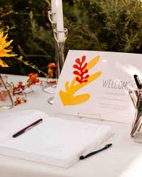 guest book ideas wedding 68 guest books from real weddings martha stewart weddings