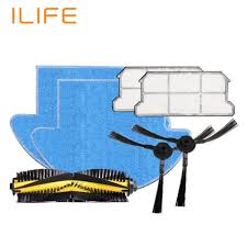 cleaning robots ilife v7s robot vacuum cleaner parts spare replacement kits