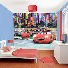 disney cars home decor disney cars wallpaper mural walltastic nursery amp kids bedroom