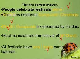 festival we celebrate