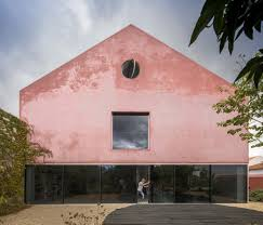 nick noyes architecture extrastudio transforms portuguese winery into house covered with