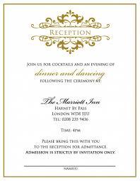 informal wedding invitation wording no parents digitalrabie com