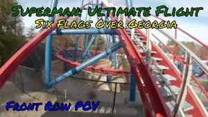 Six Flags Over Georgia Superman Ultimate Flight Superman Ultimate Flight Pov At Six Flags Over Georgia Youtube