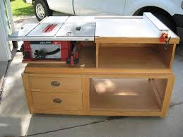 table saw station plans table saw station nice simple design maybe have work table double