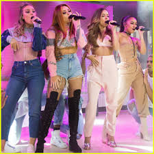 little mix show little mix perfectly performs touch on the today show watch