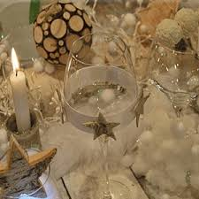 Party Table Decorating Ideas Chic Eco Friendly Christmas Table Decorations