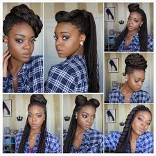 womens hairstyle the box style pictures on how i style box braids cute hairstyles for girls