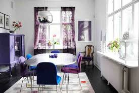 Eclectic Purple Dining Room Ideas Ultimate Home Ideas - Purple dining room