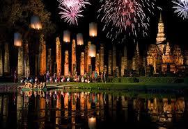 Festival Of Lights Thailand Thailand Festivals Sukhothai Loy Krathong Festival