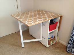 Diy Sewing Desk White Gate Leg Sewing Table Diy Projects