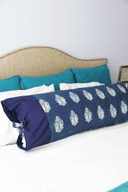 Duvet Sewing Pattern Body Pillow Cover The Sewing Rabbit