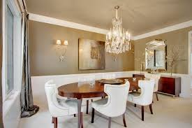 Crystal Light Fixtures Dining Room - beautiful dining room with stunning crystal chandelier