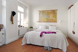 Small Bedroom With Double Bed - apartments cozy white wall small bedroom of small apartment