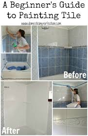 Painting Ideas For Bathroom Best 25 Paint Bathroom Tiles Ideas On Pinterest Painting