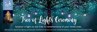 tree of lights st luke s hospicest luke s hospice