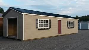Shed Roof Homes Traditional Classic Shed Factory Direct Storage Buildings Rent
