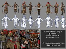 Seeking Characters Freelance Low Poly Character Artist Seeking Paid