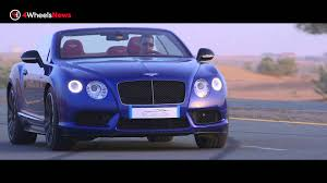 bentley continental gt v8 s convertible test drive performance