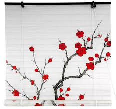 amazon com oriental furniture cherry blossom shoji blinds 36