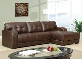 Sleeper Sofa Sectional Enchanting Brown Leather Sleeper Sofa Best Home Design Trend 2017