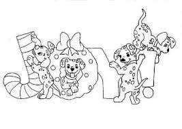 print dalmatians christmas joy disney coloring pages 420520