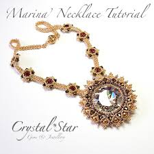 necklace jewelry patterns images Necklace tutorials collection crystal star gems jewellery jpg