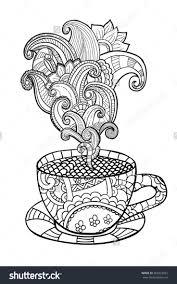 printable coloring pages tea coloring pages free printable