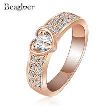 aliexpress buy beagloer new arrival ring gold aliexpress buy beagloer brand ring gold color