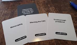 cards against humanity stores events in toronto cards against humanity the toronto version